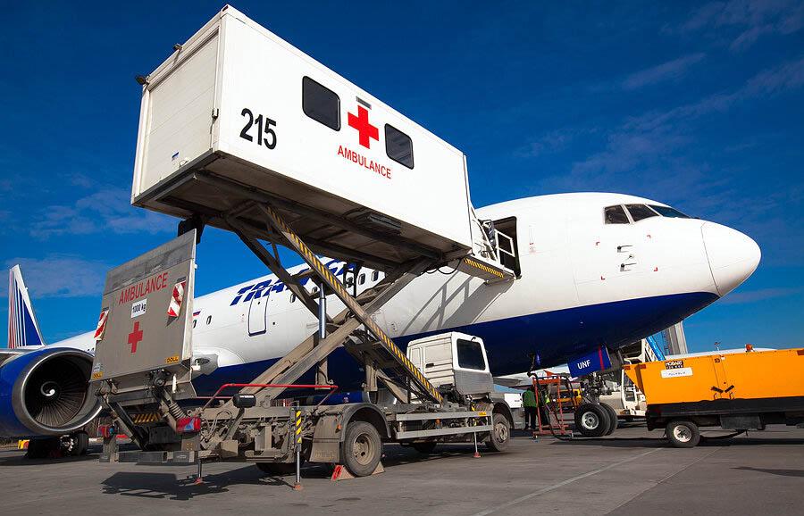 перевозка на самолете